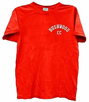 Adult Red Comedy Movie Caddyshack Bushwood Country Club Back Print T-shirt Tee