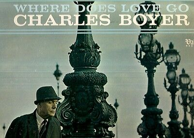 [MTI] CHARLES BOYER - WHERE DOES LOVE GO  1966 Stereo LP