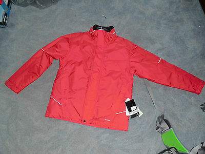 Vaude Kinder Winter Jacke, Winterjacke, Vermont Jacket, Gr: 164 in rot  wattiert