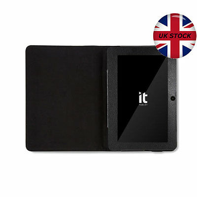 """GENUINE IT 7"""" ANDROID TABLET LEATHER CASE BTC FLAME iRULU DRAGON TOUCH - Q88 NEW"""