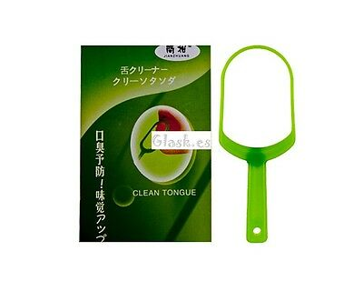 Higiene bucal: Limpiador de lengua Clean Tongue Cleaner A634