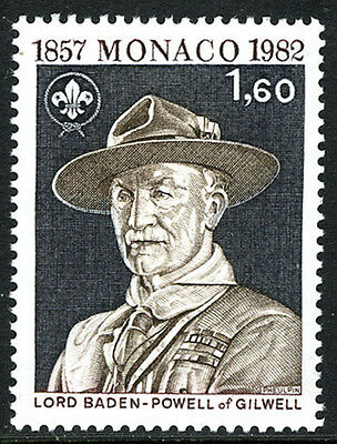 Monaco 1341, MNH. Scouting Year. Lord Baden-Powell, 1982