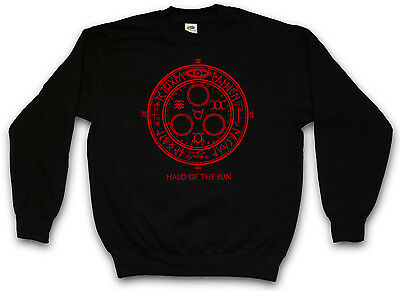 HALO OF THE SUN LOGO SWEATSHIRT SWEATER PULLOVER - Silent Horror Movie Hill Game