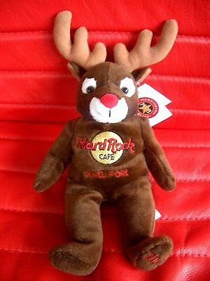 HRC Hard Rock Cafe Singapore Holiday Reindeer 2002 LE360