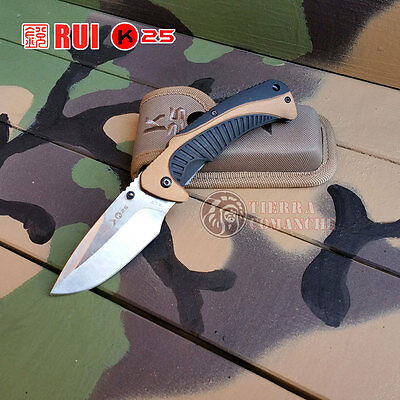 Navaja Outdoor RUI ENERGY K25 Knife Messer Coltello Couteau