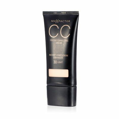 Max Factor CC Colour Correcting Cream SPF10 30ml Sealed - Various Shades