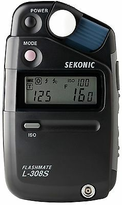 Brand New Sekonic L-308S Flashmate Digital Incident Reflected Flash Light Meter
