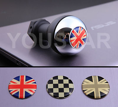 CHROME WEIGHTED SHORT Shifter Manual Gear Knob Shift for MINI R50 R53 R56 BLACK