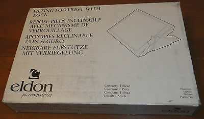 Eldon PC Tilting Footrest with Lock NIB office home adjustable foot rest NEW