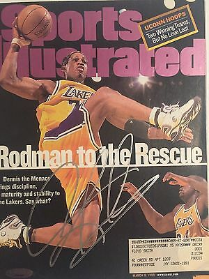 Dennis Rodman Autographed Complete Sports Illustrated Magazine 1 Tristar Holo