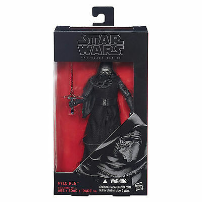 Star Wars Force Awakens Black Series Kylo Ren Action Figure NEW Toys Collectible