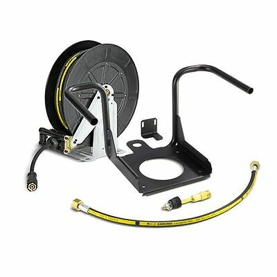 Karcher hose reel/retractable hose reel 20 mtr/karcher HDS machine reel