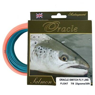 Shakespeare Oracle Switch Fly Line 1294070 1294069 ** 2017 STOCKS **