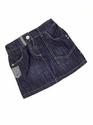 Next Baby Girls Denim Skirt with pockets  Age 9-12 months NEW LAST FEW
