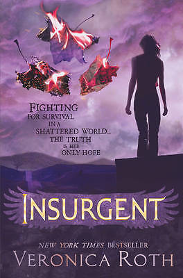 NEW! Insurgent Divergent Book 2 by Veronica Roth Paperback, 2012)