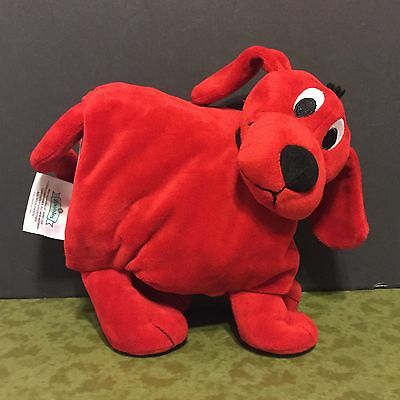 Clifford the Big Red Dog Zoobies Soft Book Plush Puppy Scholastic Inc. 2012