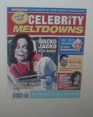 THE POP-UP BOOK of CELEBRITY MELTDOWNS NEW SEALED