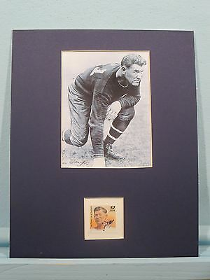 Jim Thorpe - Gold Winner at the 1912  Olympics & football player & his stamp
