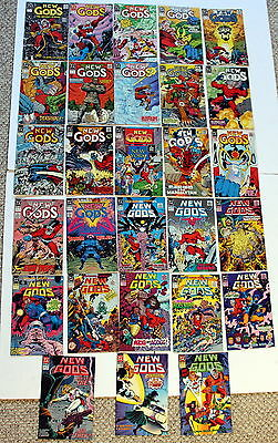 NEW GODS 1989-1991 DC comics #1-28 1st Yuga Khan 17 Batman v Superman Movie? VF