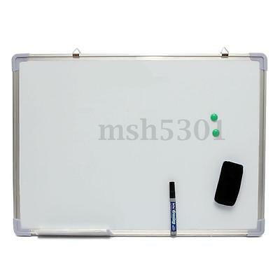 """28x20"""" Double Side Magnetic Writing Whiteboard Dry Erase Board Office W/ Eraser"""