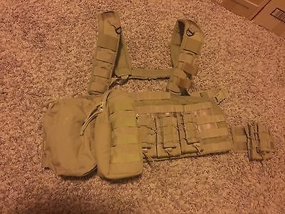 Eagle Industries Rhodesian Recon Vest Chest Rig W/ HSGI Taco, TYR, & BFG Pouches