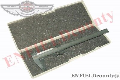 "NEW 300mm 12"" HARDENED STAINLESS STEEL VERNIER CALIPER + STORAGE BOX @ ECspares"