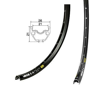 MAVIC EN421 Disc 29er/700C 32H UST Eyeleted Rim Anodised BLACK