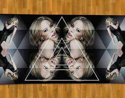 Kylie Minogue Beach Towel NEW Right Here Now Kiss Me Once Sexercize Slow