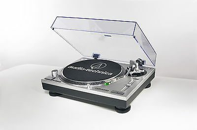 Audio-Technica AT-LP120-USB Direct-Drive Professional Turntable (USB and Analog)