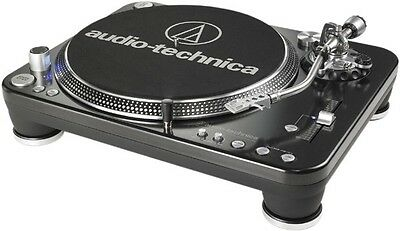 Audio-Technica AT-LP1240-USB Professional DJ Turntable SILVER