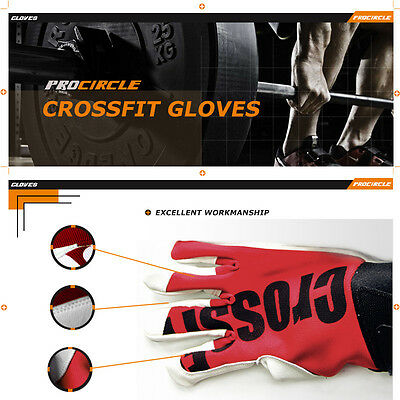 Crossfit Training Gym Gloves Fitness Weightlifting Powerlifting