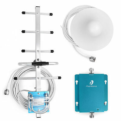 3G 850MHz 60dB Wireless CellPhone Signal Booster Repeater Amplifier+Yagi Antenna