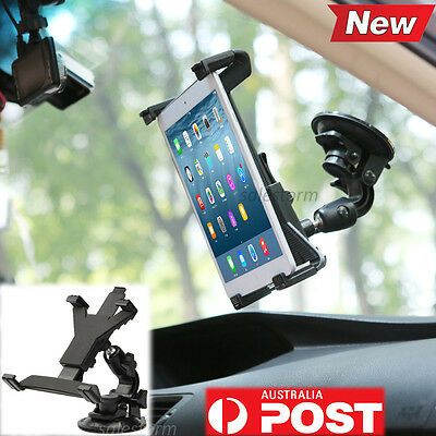 Car Windscreen Suction Mount Holder For iPad Mini Samsung Galaxy Tablet PC 8-10""