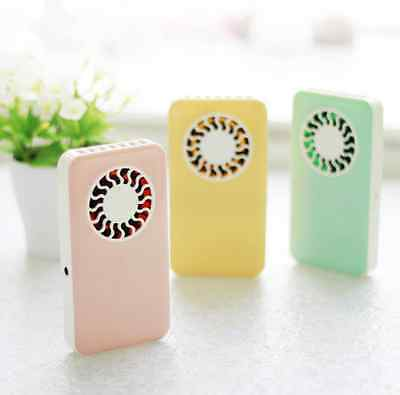 Portable Mini Rechargeable Hand held Air Conditioner Travel Summer Cooler Fan