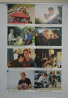 Gleaming the Cube 1989 Lobby Card Front Of House Cards Set of 8 Rare