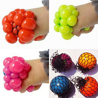Superior Anti Stress Reliever Grape Ball Autism Mood Relief Squeeze ADHD Toy