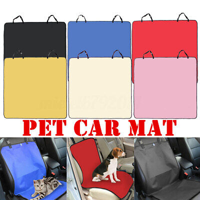 Waterproof Car Rear Back Seat Cover Pet Dog Cat Protector Headrest Mat Liner