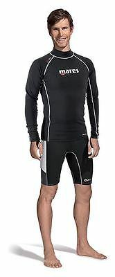 Mares Mens Long Sleeve FIRESKIN Undersuit Vest Top - OFFICIAL UK BASED DEALER