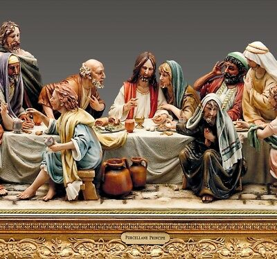"Porcellana di Capodimonte, L' Ultima Cena  ""The Last Supper """