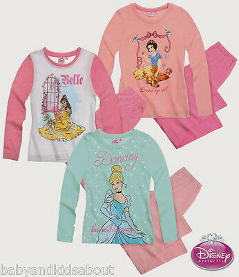 Girls SNOW WHITE/BELLE/CINDERELLA Long Sleeve Pyjama Set 2-8 Yrs Collection 2014