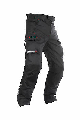 Oxford Continental 2.0 Textile Motorcycle Waterproof CE Armoured Braces Pant -T