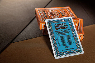 Animal Kingdom Deck Of Playing Cards By Theory11 Magic Tricks Poker Size Collect