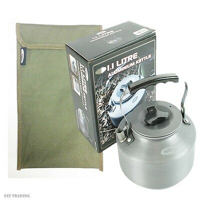 Carp Fishing KETTLE & Case For Bivvy Shelter Camping NGT