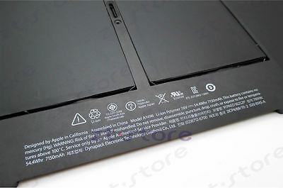 """Laptop Battery A1496 for Apple MacBook Air 13"""" A1466 (2013/2014/2015 Version)"""