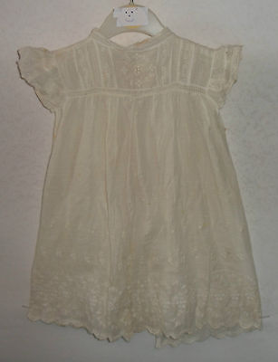 VINTAGE pinafore apron dress Victorian 1 - 2 years (FD6)