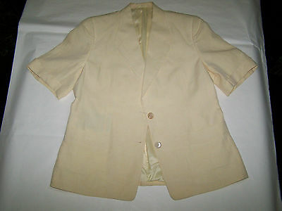 "Giacca ""burberrys' ""  Vtg 90 100% Linen Made In England Tg 50"
