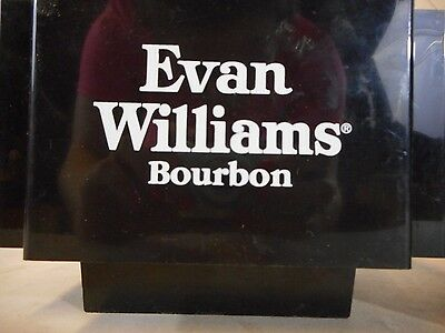 Evan Williams Bourbon Man Cave DECOR SIGN 4x6 magnet Fridge REFRIGERATOR Bar