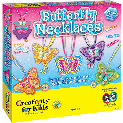 Creativity for Kids Butterfly Necklace Kit
