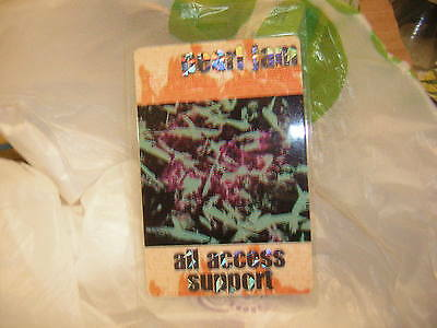Pearl Jam Backstage Pass All Access Eddie Vedder 1999