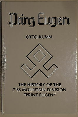WW2 German Prinz Eugen History of 7 SS Mountain Division Reference Book